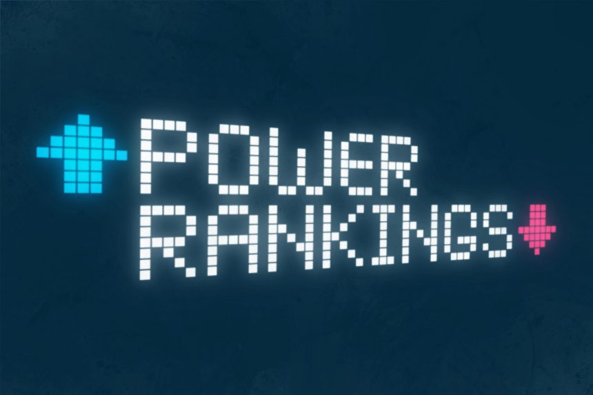 Power Rankings: Week 13