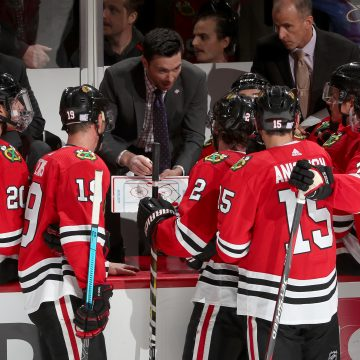 Breakdown: Colliton's First Two Weeks Behind Hawks Bench