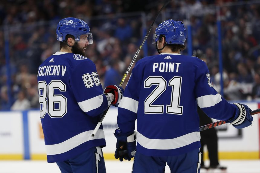 Kucherov & Point taking their game to new heights