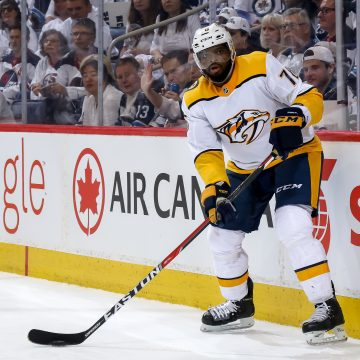 The Preds and Jets couldn't be more different exiting the zone