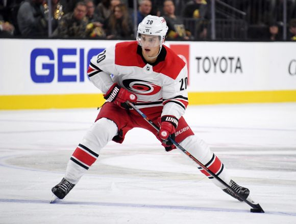 Point Shot: Aho shines in 'Canes OT win.