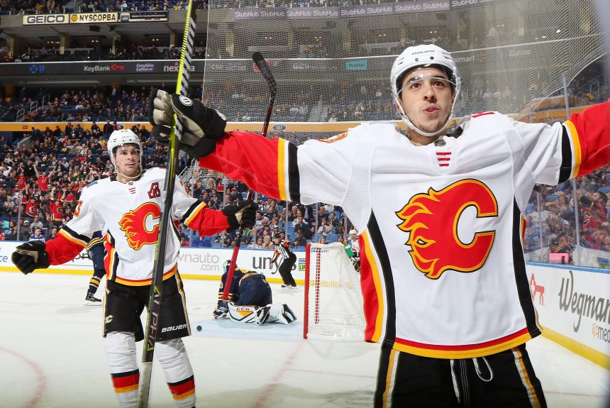 Point Shot: Johnny Gaudreau's Excellent Passing Night