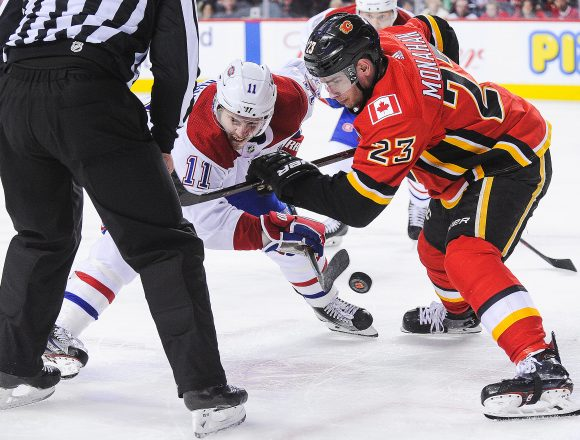 Point Shot: Monahan and Gallagher, Net-Front battle