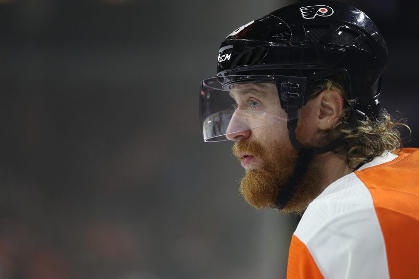Point Shot: Jakub Voracek's Best 3rd Period in 11 Years