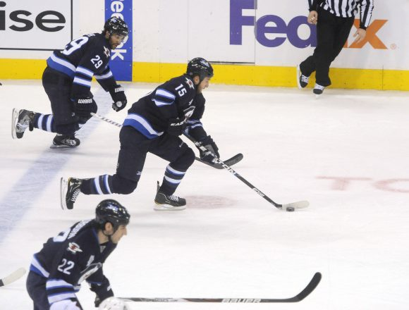 Jets failing off the rush or defending against it