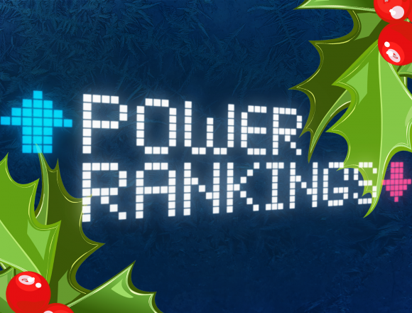 Power Rankings: Week 11 Holiday Edition