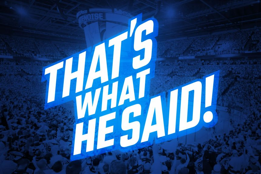 That's What He Said – Nazem Kadri