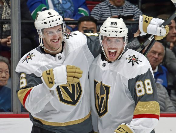 Nate Schmidt is Back and So is Vegas