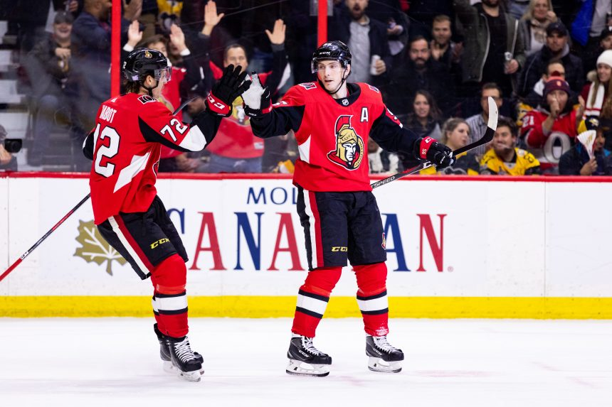 Point Shot: A Pair of Returns Bolsters Ottawa's Offense