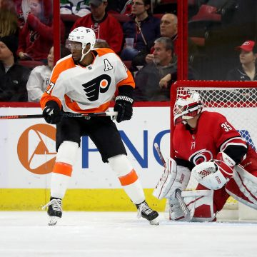 Why Wayne Simmonds is a perfect fit for the Stars