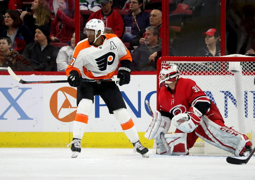 Point Shot: Wayne Simmonds a fit as a Bruin?