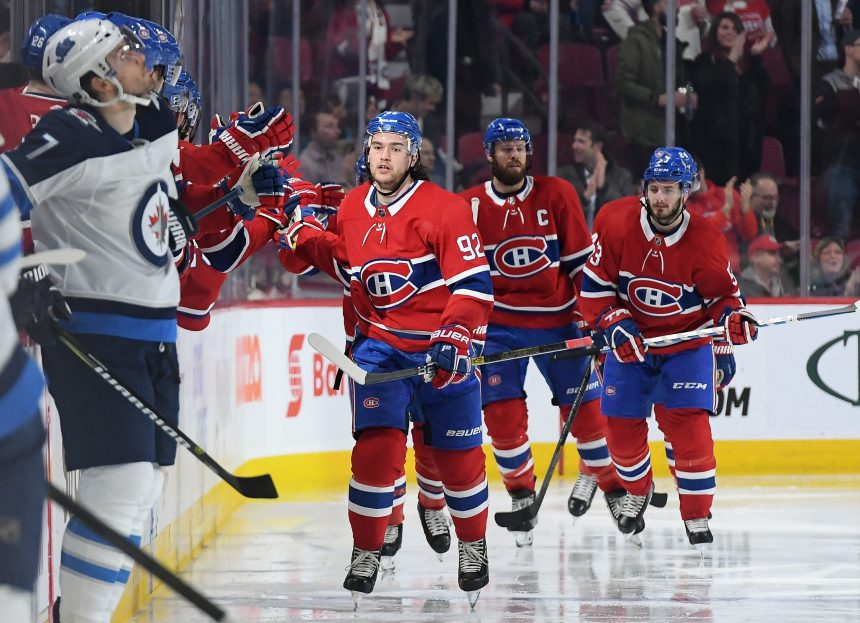 Drouin Leading the Way For Canadiens