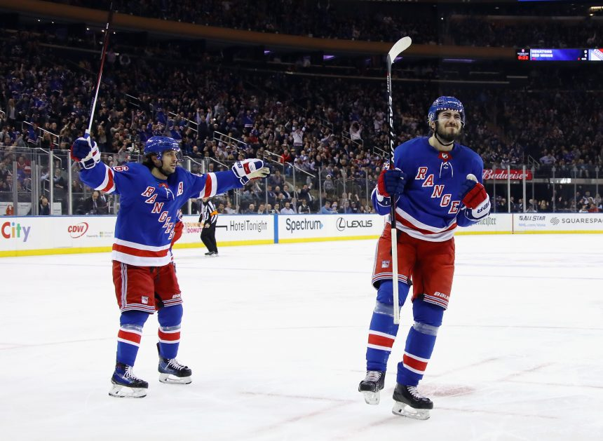 Zibanejad and Zuccarello Give the Rangers Some Life