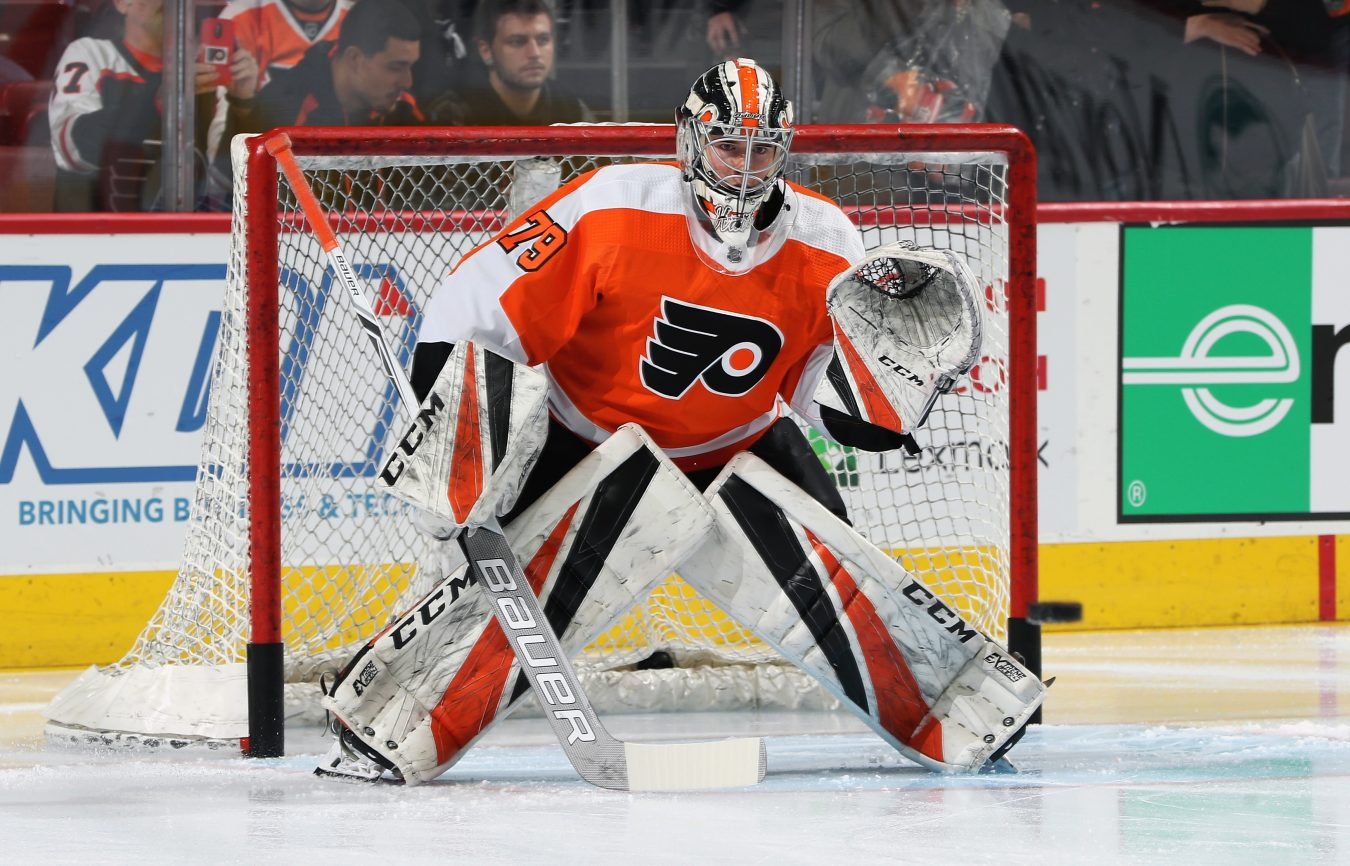 Carter Hart Shows That He's the Real Deal - The Point Data-driven ...
