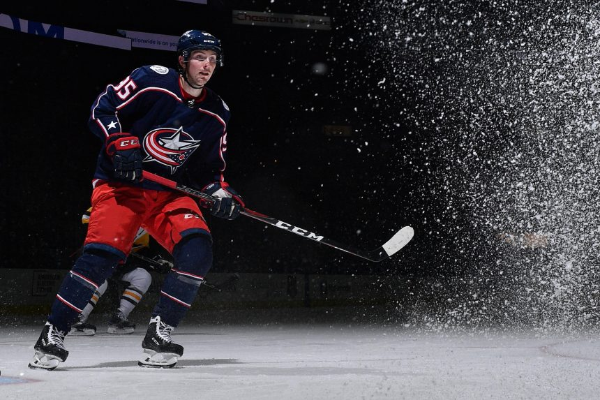 Don't Blame Matt Duchene for Columbus' Scoring Woes
