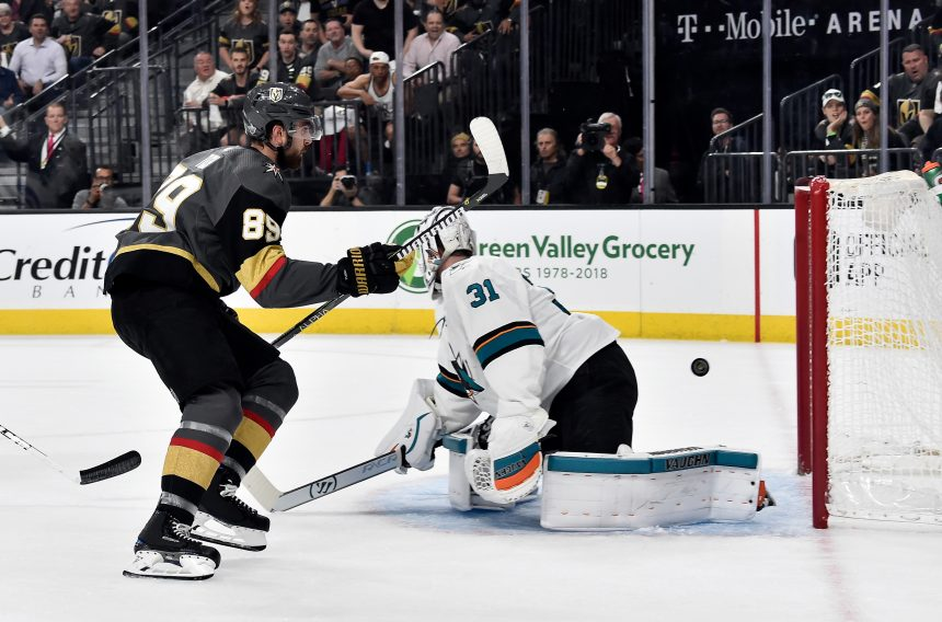 Vegas Shows San Jose Why the Sharks Need to Avoid them in Round 1