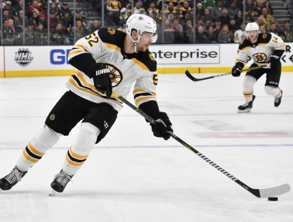 The Bruins Strength At Both Ends Of The Ice Sinks The Hurricanes