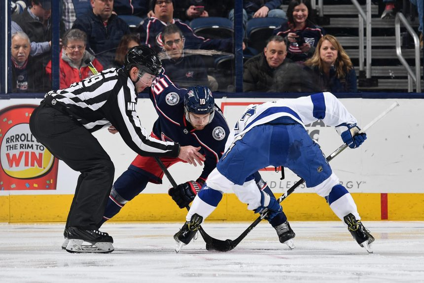 Columbus shuts down Tampa's Top-6 in Game 1 win