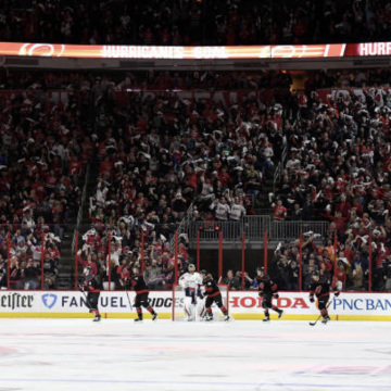 Game 3 Recap: Hurricanes Obliterate Capitals. The Numbers & Visuals You Need to See.