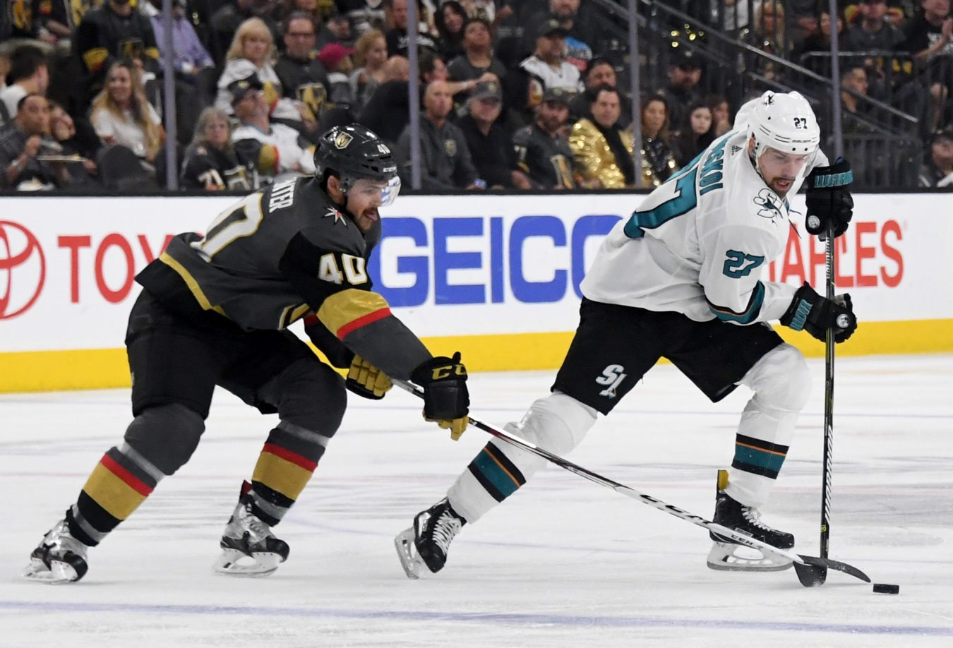 Playoff Preview: Golden Knights vs Sharks - The Point Data-driven