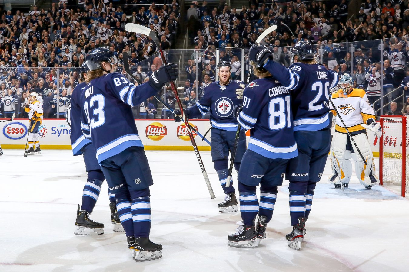 Kevin Hayes Impact On The Winnipeg Jets The Point Data Driven Hockey Storytelling That Gets Right To The Point