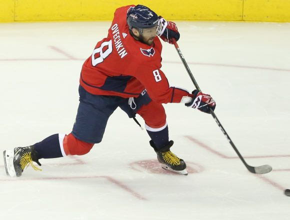 Ovechkin's Aim a Little Off in Game 1