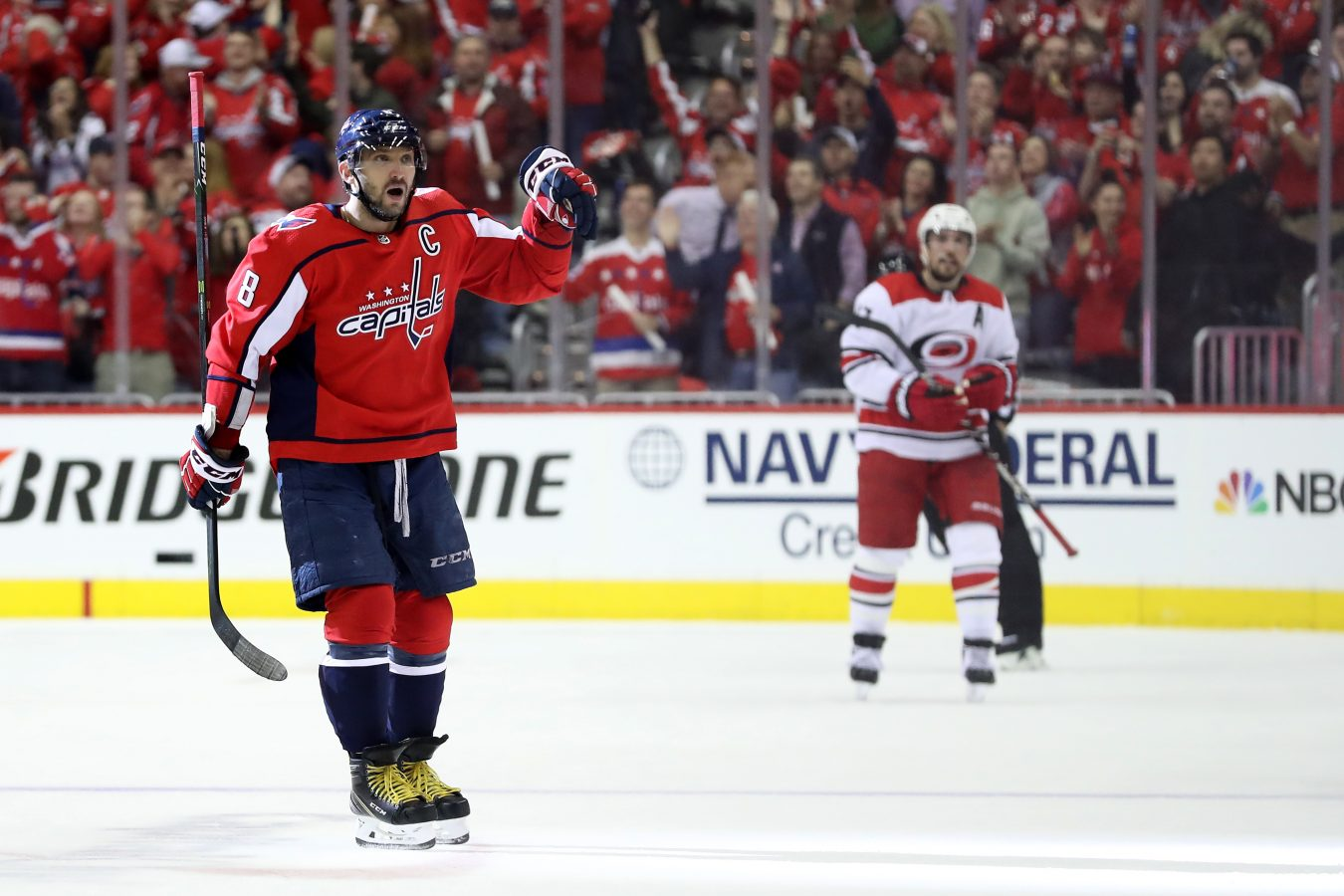 The Capitals Set The Tone Physically In Game 5 And Will Look For