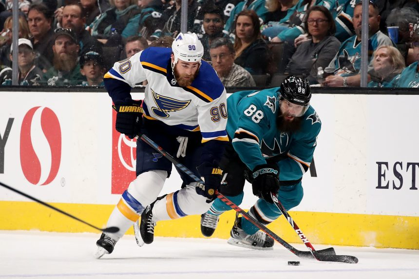 Sharks vs Blues: A Quick Look at the Series Through 3 Games