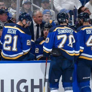 Blues Self-Inflicted Wounds Almost Cost Them Another Game
