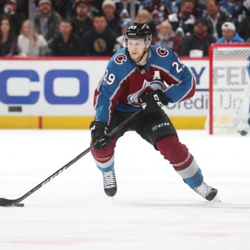 Despite Sharks Attempts to Contain Nathan MacKinnon – He Can't be Stopped