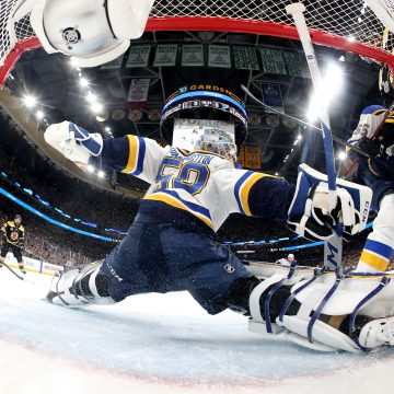 Jordan Binnington Steals Game 5 In Boston
