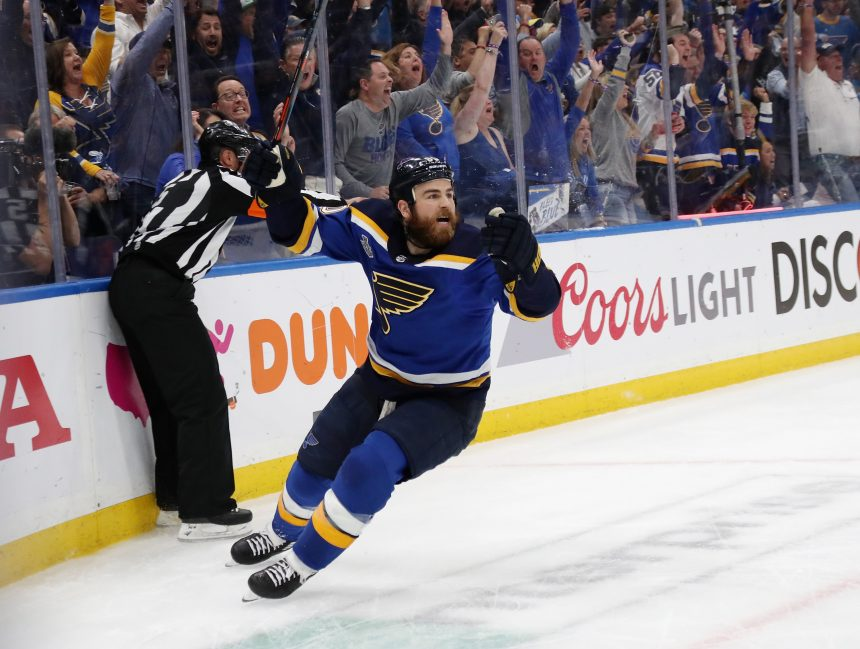 Ryan O'Reilly And The Blues Stick To Their Identity In Game 4