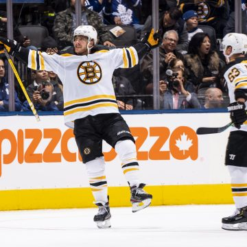 Does David Pastrnak have the best 1-timer in hockey?