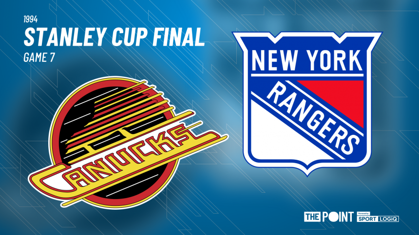 Canucks vs Rangers: 1994 Stanley Cup Final – Game 7